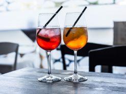 Italian Aperitivo drink